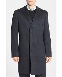 John w nordstrom clifton plaid cashmere overcoat medium 115085