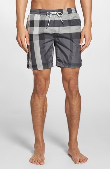 2c2b95befd Burberry Brit Gowers Check Swim Trunks, £235 | Nordstrom | Lookastic UK