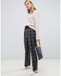 Selected Check Trousers