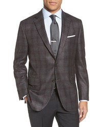 Flynn classic fit plaid wool blend sport coat medium 792229