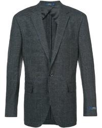 Polo Ralph Lauren Plaid Fitted Blazer