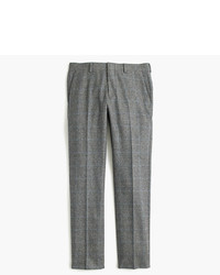J.Crew Ludlow Suit Pant In Italian Glen Plaid Wool