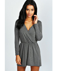 Charcoal Playsuit
