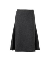 Atale wool blend midi skirt medium 79538