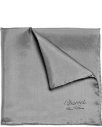 Charcoal Pocket Square