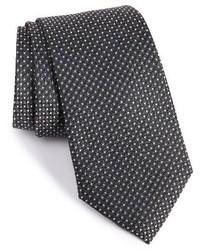 Shop dotted silk tie medium 1161796