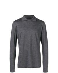 Ermenegildo Zegna Plain Polo Shirt