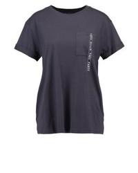 Print t shirt dark grey medium 3895304