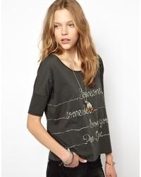 Pepe Jeans Sabrina T Shirt Grey