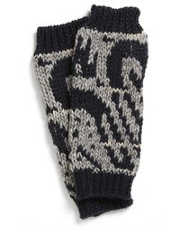 Charcoal Print Gloves