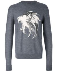 Charcoal Print Sweatshirt