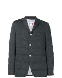 Charcoal Quilted Blazer