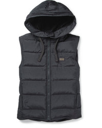Dolce & Gabbana Down Filled Hooded Gilet