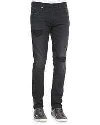 Jeans mick destroyed skinny fit jeans medium 216220