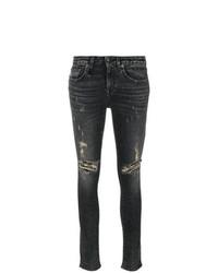 Skinny distressed jeans medium 8192617