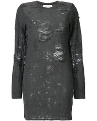 IRO Distressed Sweater Dress