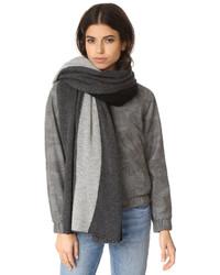 Cashmere color spliced travel wrap medium 1317540