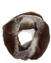 Faux chinchilla neck warmer medium 834582