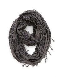BP. Knit Infinity Scarf Grey Blue One Size