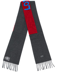 Fendi Love Embroidered Scarf