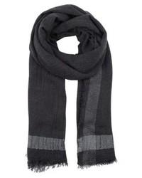 Pcdool scarf dark grey melange medium 4139328