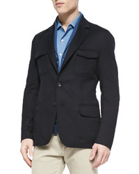 Loro Piana Cashmere Notched Collar Sport Coat