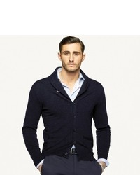 Ralph Lauren Black Label Cotton Shawl Collar Cardigan