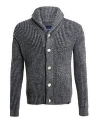 Jacob shawl cardigan tweed grey twist medium 6444598