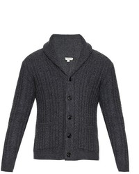 Burberry London Nissington Aran Knit Cardigan