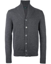 Zanone Shawl Collar Cardigan