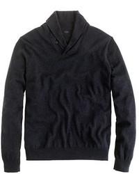 Cotton cashmere shawl collar sweater medium 333750