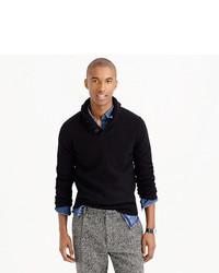 229f671f211 J.Crew Lambswool Shawl Collar Sweater
