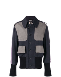 Ann Demeulemeester Contrasting Panels Jacket