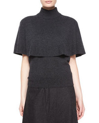 Charcoal Short Sleeve Sweater