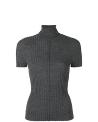 Chloé Shortsleeved Ribbed Jumper
