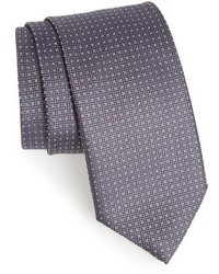 Canali Microdot Silk Tie