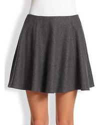 Charcoal Skater Skirt