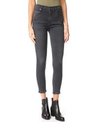 High rise rocket crop skinny jeans medium 968345