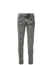 Givenchy High Waist Lightning Bolt Jeans
