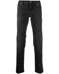 Dolce & Gabbana Logo Plaque Skinny Jeans