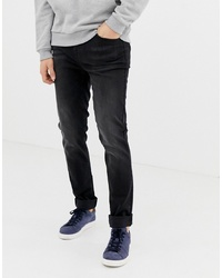 LDN DNM Skinny Jeans In Washed Black