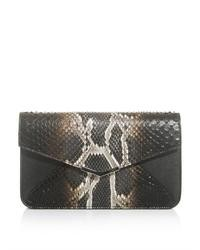 2jours python skin clutch medium 35227