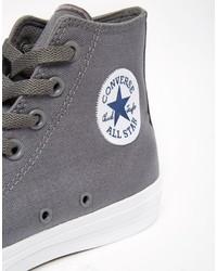 898c49728403 ... Converse Chuck Taylor All Star Ii Hi Top Sneakers In Gray 150147c ...