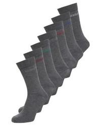 Zalando Essentials 7 Pack Socks Grey