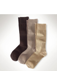 Polo Ralph Lauren Assorted Patterned Sock 3 Pack