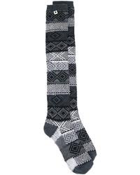 Twin-Set Jacquard Socks