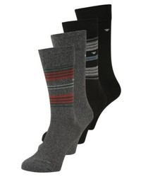Tom Tailor Stripes 4 Pack Socks Mixed Colored