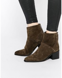 Asos Collection Reckon Suede Ankle Boots