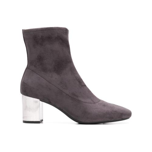 MICHAEL Michael Kors Michl Michl Kors Metallic Heel Sock Boots