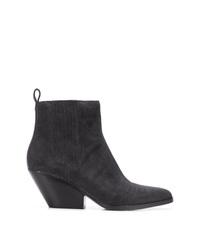 MICHAEL Michael Kors Michl Michl Kors Stitch Detail Ankle Boots